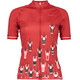 Maloja FrancaM. Short Sleeve Bike Jersey Women red poppy
